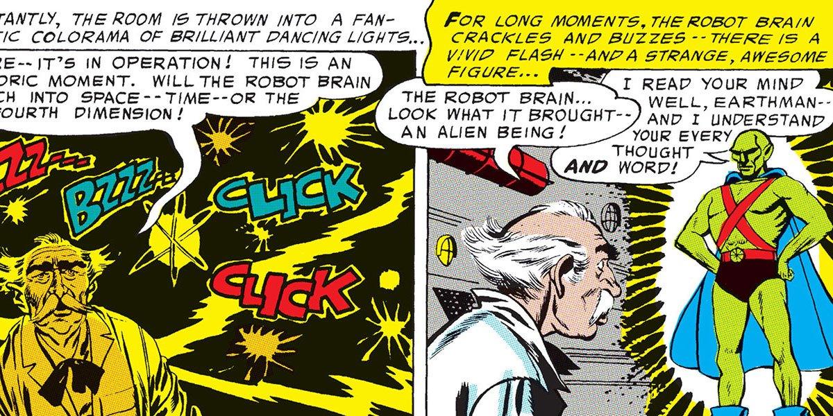 Martian Manhunter's First Appearance