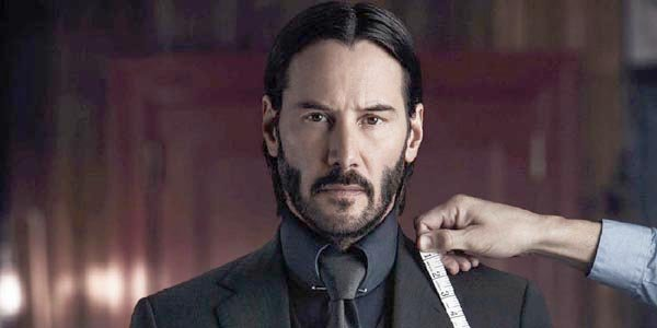 Keanu Reeves John Wick tailor suit