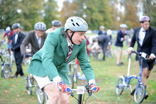Michael Hutchinson, Bike Blenheim Palace 2009, Brompton world championship