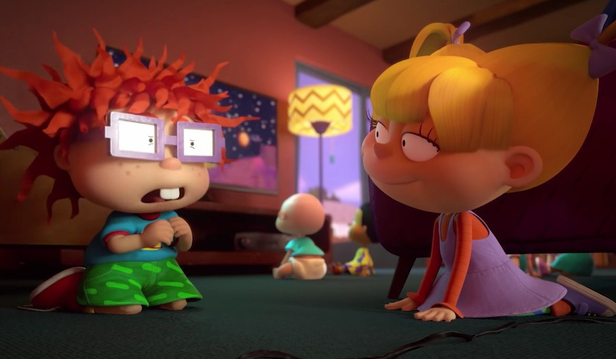 Chuckie Angelica Rugrats Paramount+