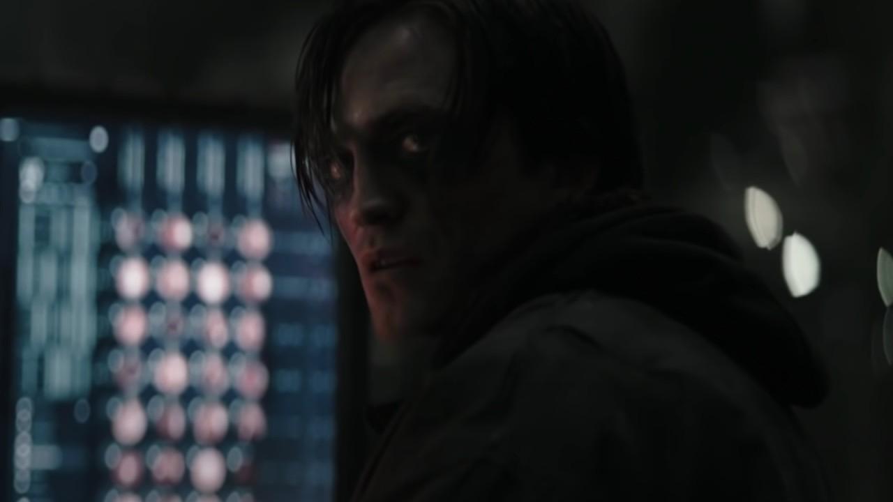 The Batman in eye makeup