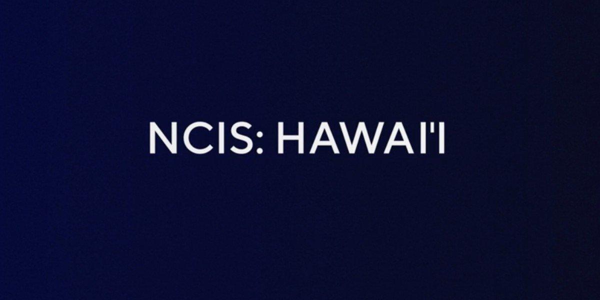 Early NCIS: Hawai'i Logo