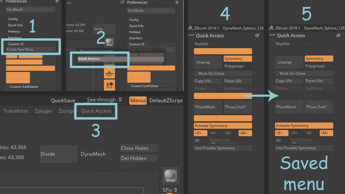 Work smart with your Zbrush UI | Creative Bloq