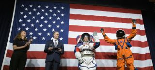 Meet the xEMU spacesuit, and a new pumpkin suit for Orion, too.