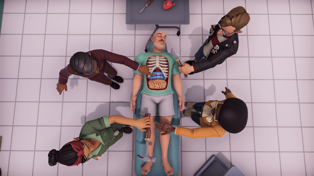 Surgeon Simulator 2 Features Clever Puzzles Co Op Creation Tools And Even Grosser Physics Pc Gamer
