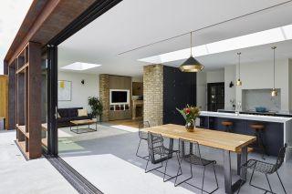home renovation ideas like sliding doors are popular