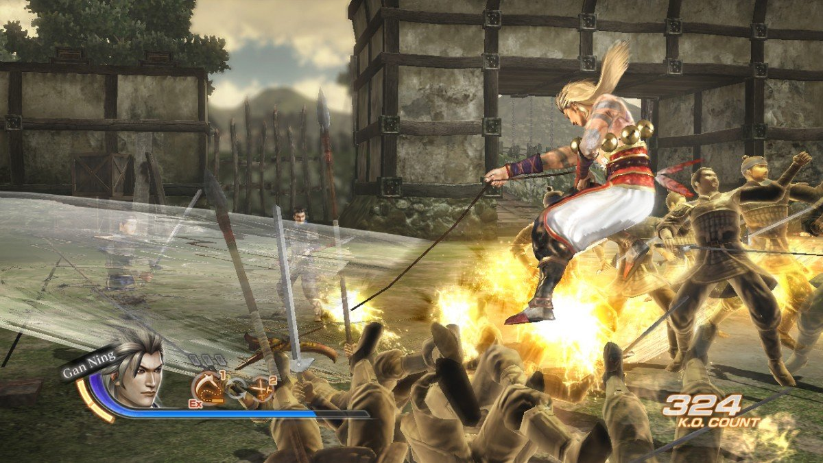 Dynasty Warriors 7 Character And Combat Screenshots #16487
