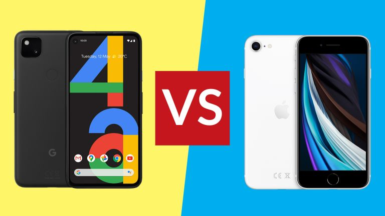 Google Pixel 4a vs iPhone SE