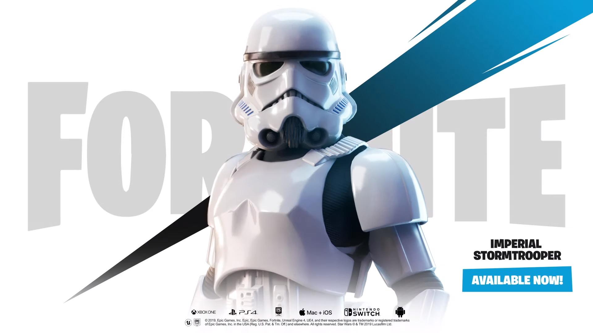 Fortnite X Star Wars Event Kicks Off With A Stormtrooper Skin And A Star Destroyer Gamesradar