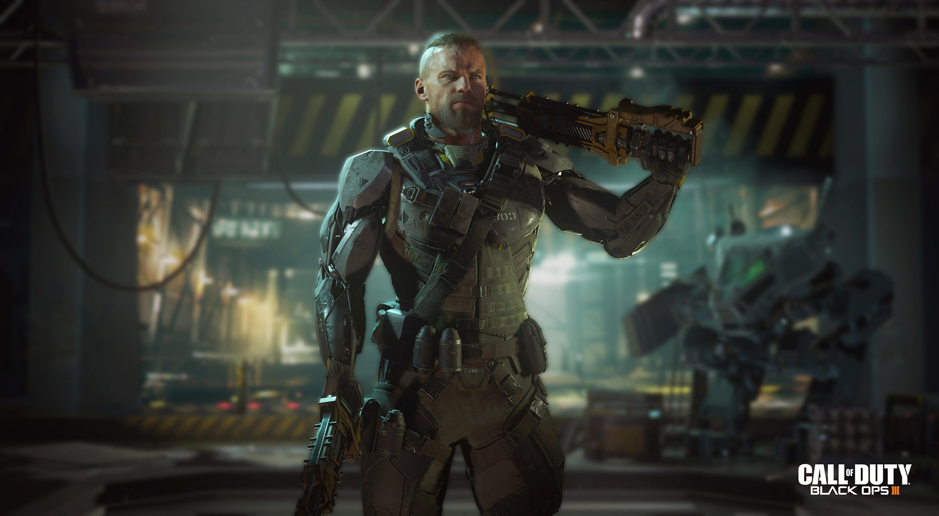 Call Of Duty: Black Ops 3 Screenshots Introduce Super-Soldiers And Robots  #32761
