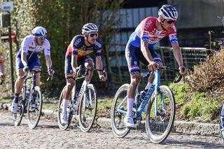 Le Samyn 2021 - 53rd Edition - Quaregnon - Dour 205,4 km - 02/03/2021 - Mathieu Van Der Poel (NED - Alpecin-Fenix) - photo Peter De Voecht/PN/BettiniPhoto©2021