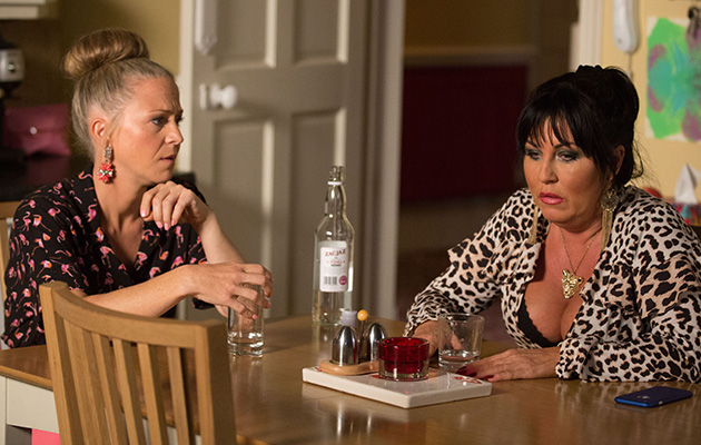 EastEnders Linda Carter talks to Kat Moon