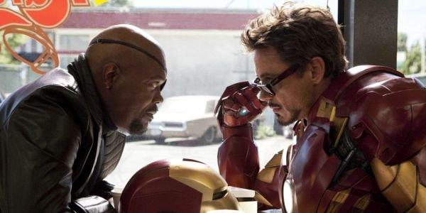 Iron Man  Nick Fury Iron Man 2