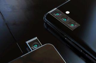 Samsung Galaxy A series rotating pop-up camera