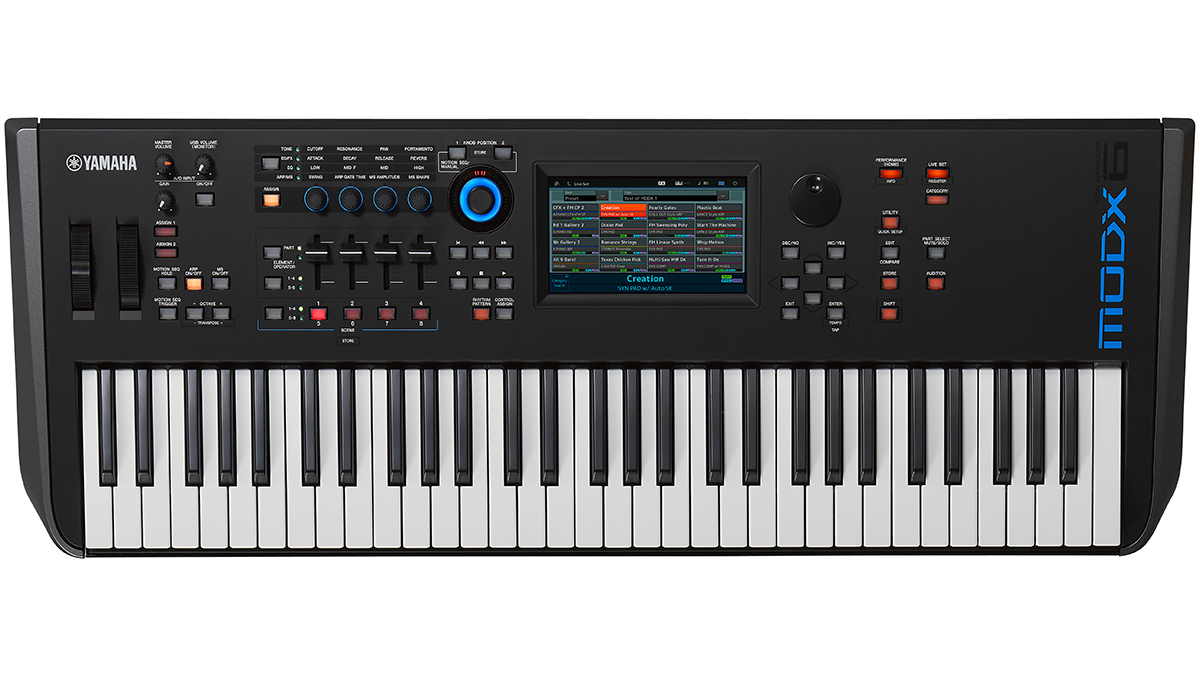 Yamaha's MODX is a new mid-priced synth with the Montage's sound