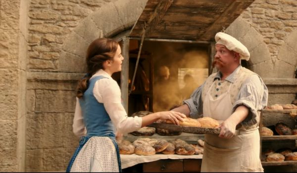 Belle and the Baker in Beauty and the Beast