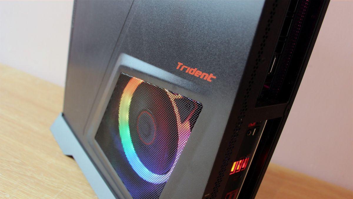 MSI puts Intel Core i9 processors and Nvidia RTX GPUs into its Trident desktops