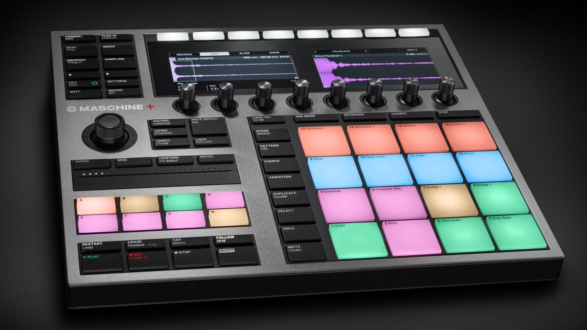 First look: NI announces Maschine+, a standalone groovebox with WiFi, Massive and Ableton Link