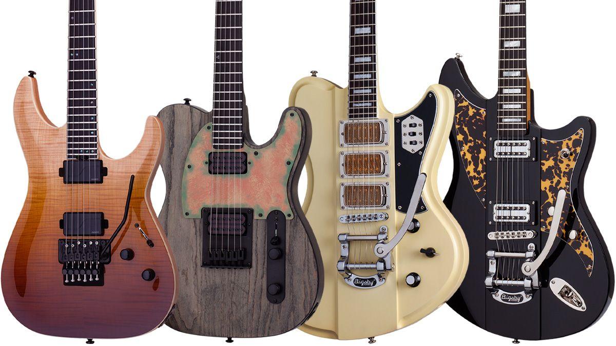 namm 2018 schecter unveils 19 new electric guitars musicradar. Black Bedroom Furniture Sets. Home Design Ideas