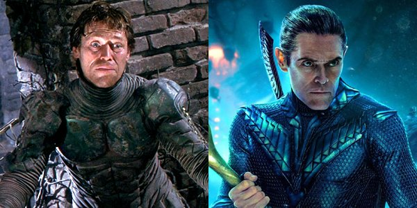 Willem Dafoe Spider-Man and Aquaman Green Goblin and Vulko