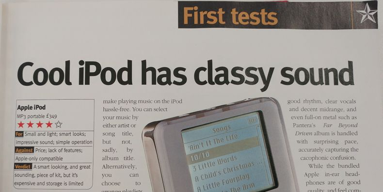 That Was Then... Apple iPod review