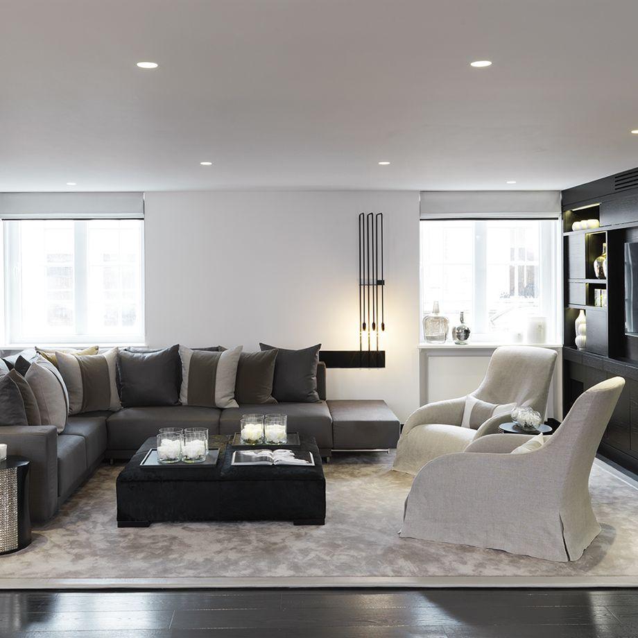 Kelly hoppen living room ideas