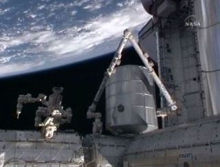 Astronauts Deliver Moving Van to Space Station