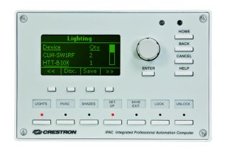 Crestron Lighting Processor Provides Easy Installation