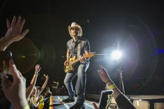 Brad Paisley performs June 01, 2019, in Chula Vista, California