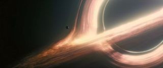 Black Hole Gargantua in 'Interstellar'