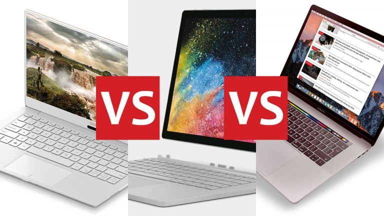 Dell XPS 13 Surface Book 2 MacBook Pro