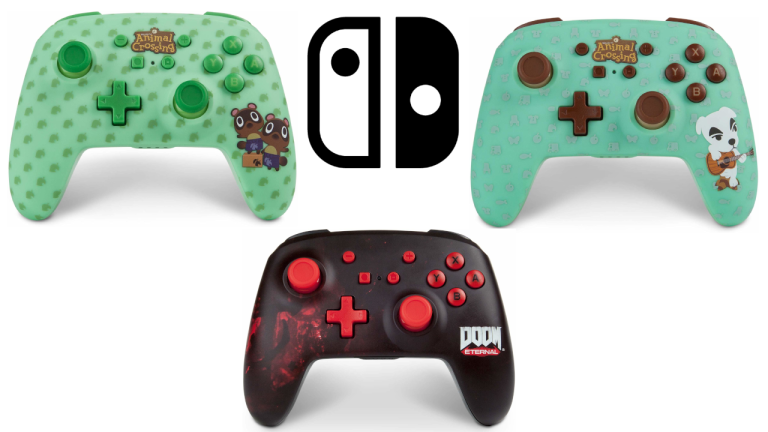Officially licensed PowerA Nintendo Switch controllers