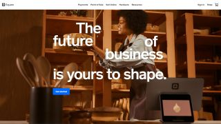 Square Online's homepage
