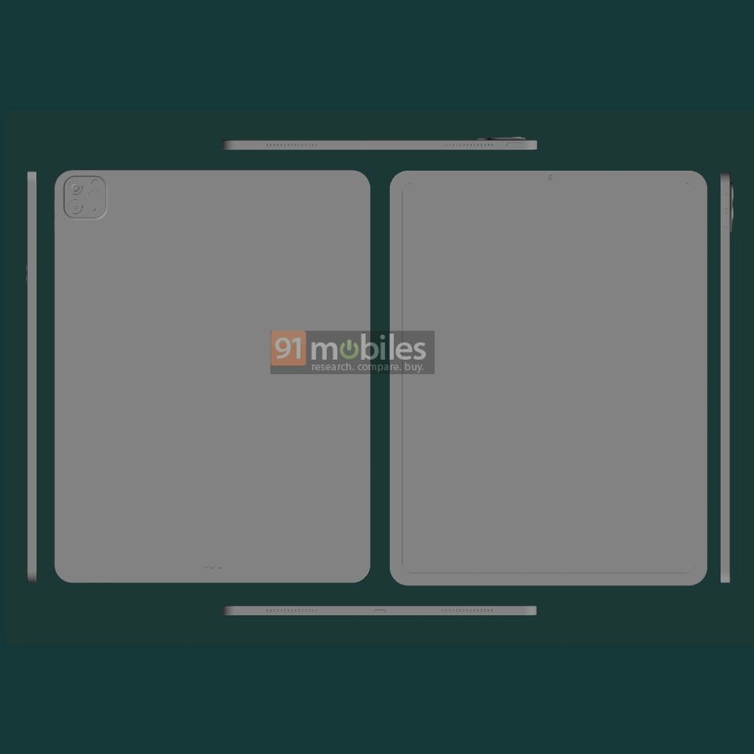 iPad Pro 2021 renders