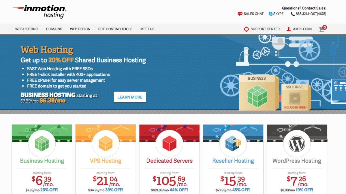 InMotion Hosting review   TechRadar