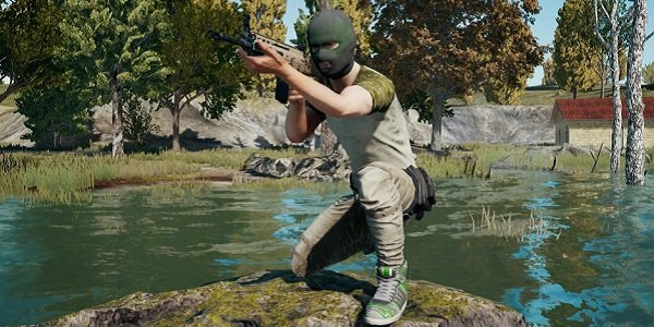 Items from Warrior Pack in PUBG