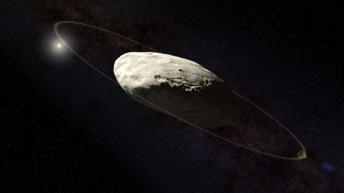 Scientists Reveal New Details of Dwarf Planet Haumea's Elusive Ring
