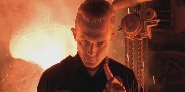 Robert Patrick as the T-1000 in Terminator 2