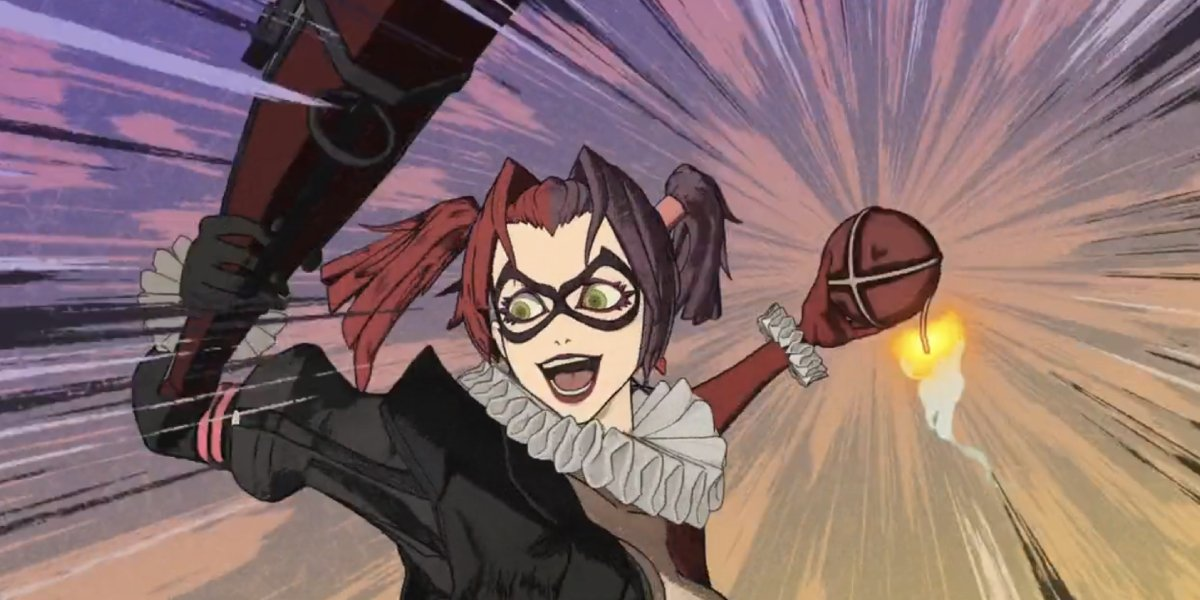 Tara Strong as Harley Quinn in Batman Ninja