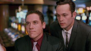 Jon Favreau and Vince Vaughn in _Swingers._