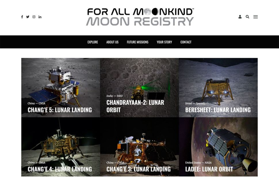 'Moon Registry' catalogs human heritage left behind on lunar surface