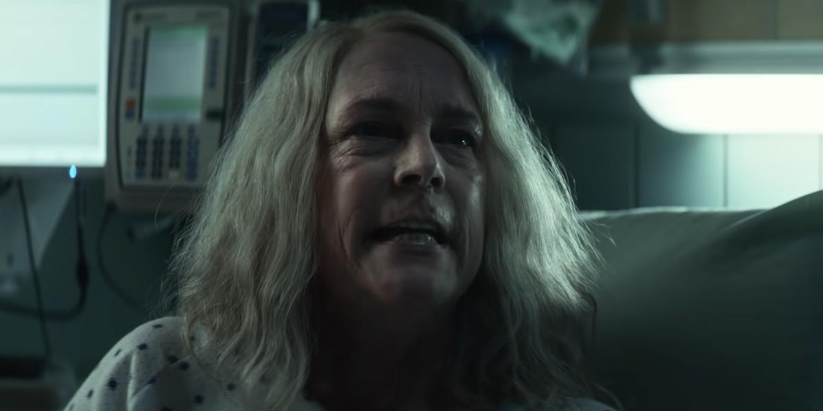 Jamie Lee Curtis in Halloween Kills' trailer