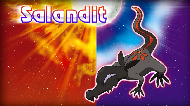 Pokemon Salandit