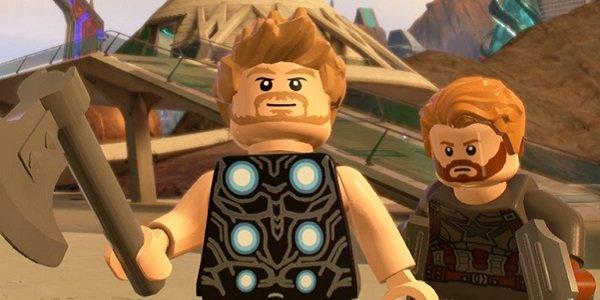 Thor Captain America Legos