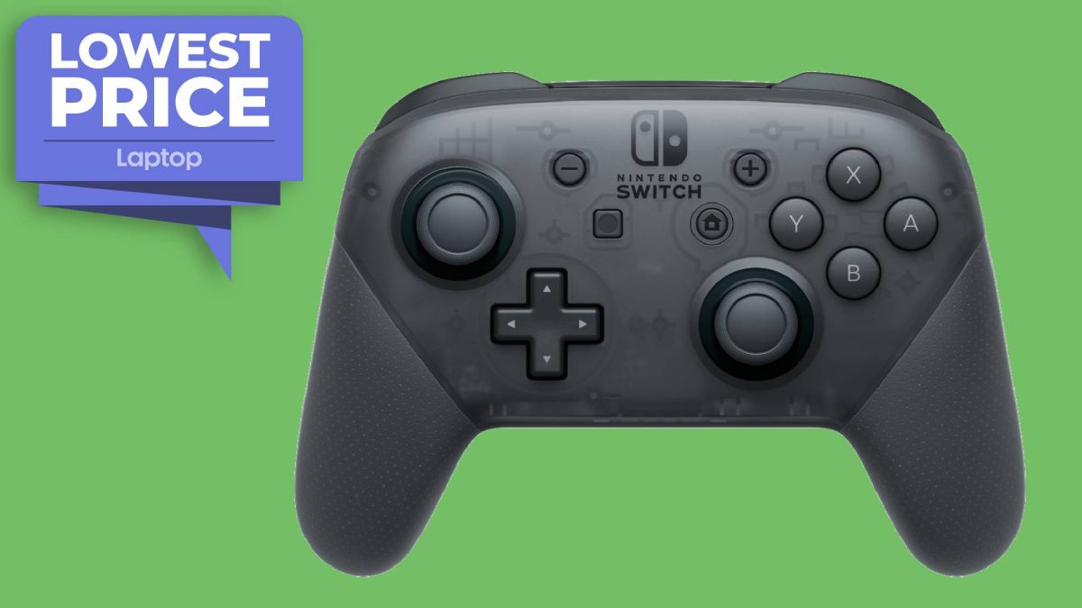 Nintendo Switch Pro Controller returns to $59 all-time low price