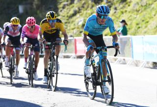 ORCIERES FRANCE SEPTEMBER 01 Miguel Angel Lopez Moreno of Colombia and Astana Pro Team during the 107th Tour de France 2020 Stage 4 a 1605km stage from Sisteron to OrcieresMerlette 1825m TDF2020 LeTour on September 01 2020 in Orcieres France Photo by Tim de WaeleGetty Images