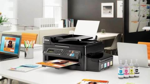 Epson WorkForce ET-4500 EcoTank printer review