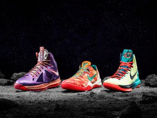 Nike's Space-Themed Basketball Stars