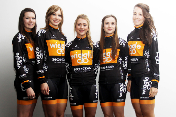 Roberts, Rowsell, Trott, Barker, King Wiggle Honda launch 2013