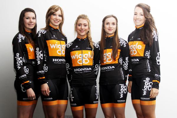 Roberts, Rowsell, Trott, Barker, King Wiggle Honda launch 2013